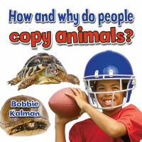How and Why Do People Copy Animals