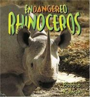Endangered Rhinoceros