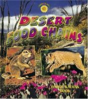Desert Food Chains (The Desert Food Chains Series)