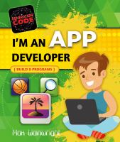 I'm An App Developer