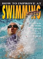 How to Improve at Swimming