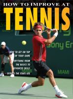 How to Improve at Tennis