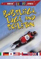Bobsleigh, Luge, and Skeleton