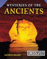 Mysteries of the Ancients