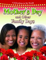 Mother's Day and Other Family Days