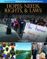 Hopes, Needs, Rights, and Laws