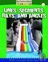 Lines, Segments, Rays, and Angles