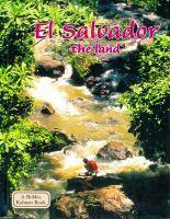 El Salvador. The Land