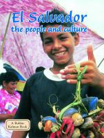 El Salvador, the People and Culture