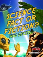 Science Fact or Fiction?