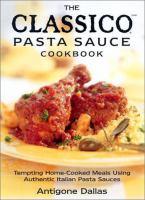 The Classico Cookbook