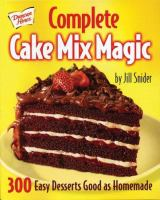 Complete Cake Mix Magic