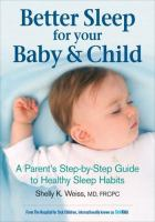Better Sleep for your Baby & Child