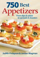 750 Best Appetizers