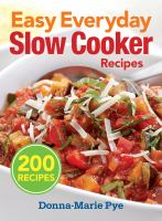 Easy Everyday Slow Cooker Recipes