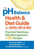 The PH Balance Health & Diet Guide for GERD, IBS & IBD