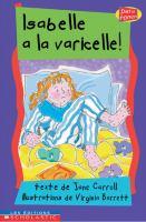 Isabelle a la varicelle!