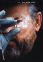 Orson Welles's F for Fake