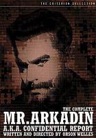 The Complete Mr. Arkadin A.k.a Confidential Report