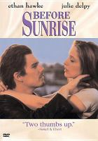 Before Sunrise(DVD,Ethan Hawke)