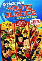 Young Justice - Season 1 3 Pack of Fun (DVD)