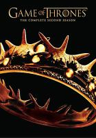 Game of thrones : [videorecording (DVD)] the complete second season