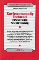 Environmentally Induced Disorders Sourcebook