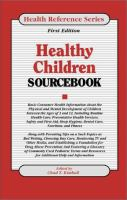 Healthy Children Sourcebook