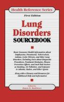 Lung Disorders Sourcebook