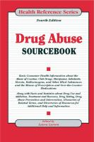 Drug Abuse Sourcebook