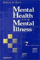 Mental Health & Mental Illness