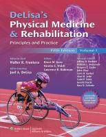 DeLisa's Physical Medicine & Rehabilitation