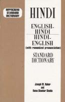 English-Hindi, Hindi-English