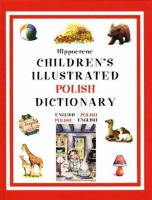 Hippocrene Children's Illustrated Czech Dictionary