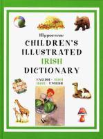 Hippocrene Children's Illustrated Irish Dictionary