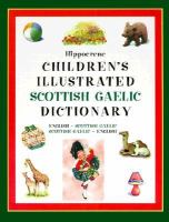 Hippocrene Children's Illustrated Scottish Gaelic Dictionary
