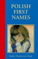 Polish First Names