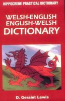 Welsh-English, English-Welsh Dictionary