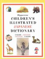 Hippocrene Children's Illustrated Japanese Dictionary