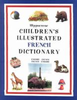Hippocrene Children's Illustrated French Dictionary