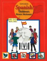 Hippocrene Spanish Children's Picture Dictionary