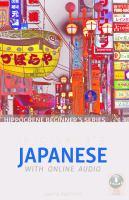 Beginner's Japanese With Online Audio