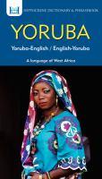 Yoruba Dictionary & Phrasebook