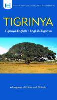 Tigrinya Dictionary & Phrasebook