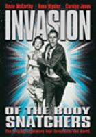 Invasion of the body snatchers [videorecording (DVD)]