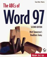 The ABCs of Word 97