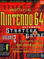 Unofficial Nintendo 64 Ultimate Strategy Guide