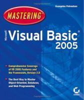 Mastering Microsoft Visual Basic 2005