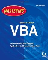 Mastering Microsoft VBA, 2nd Edition