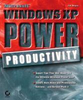 Microsoft Windows XP Power Productivity